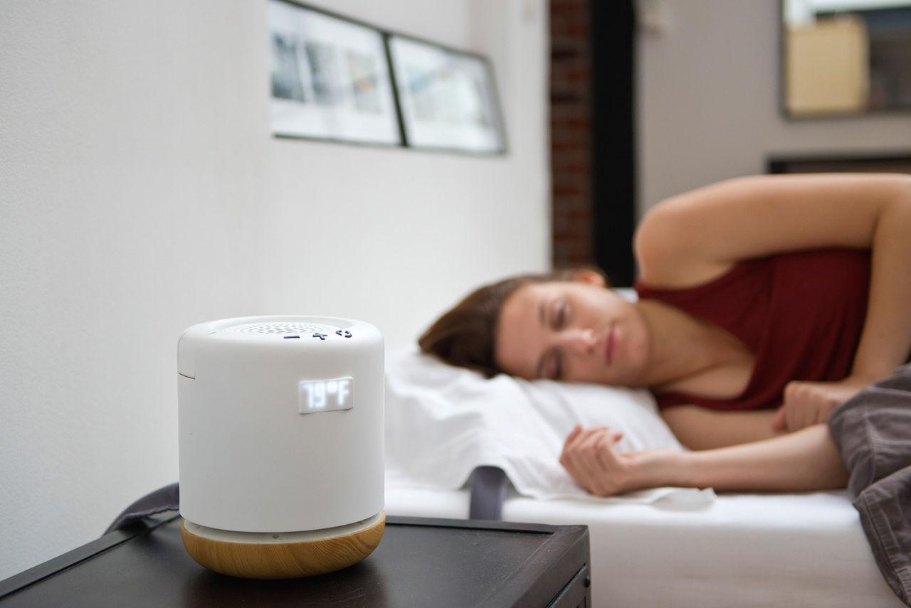 Moona är en smart kudde som alltid håller rätt temperatur