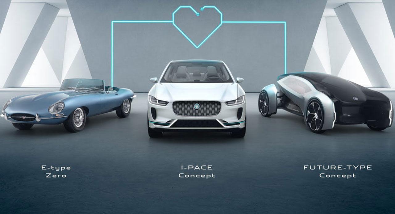 Alla Jaguars bilar ska ha elmotor från 2020