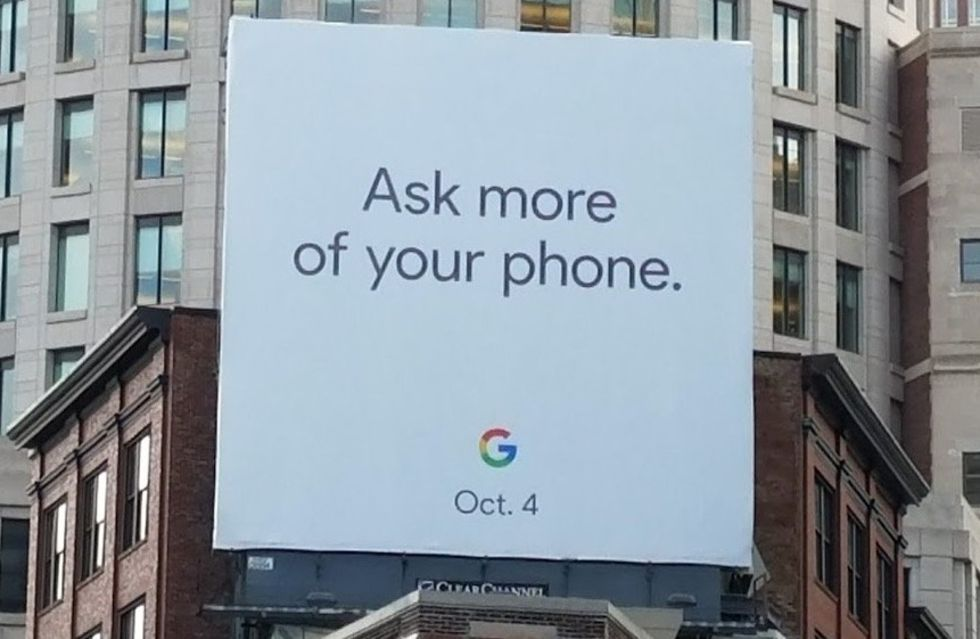 Google håller låda 4 oktober