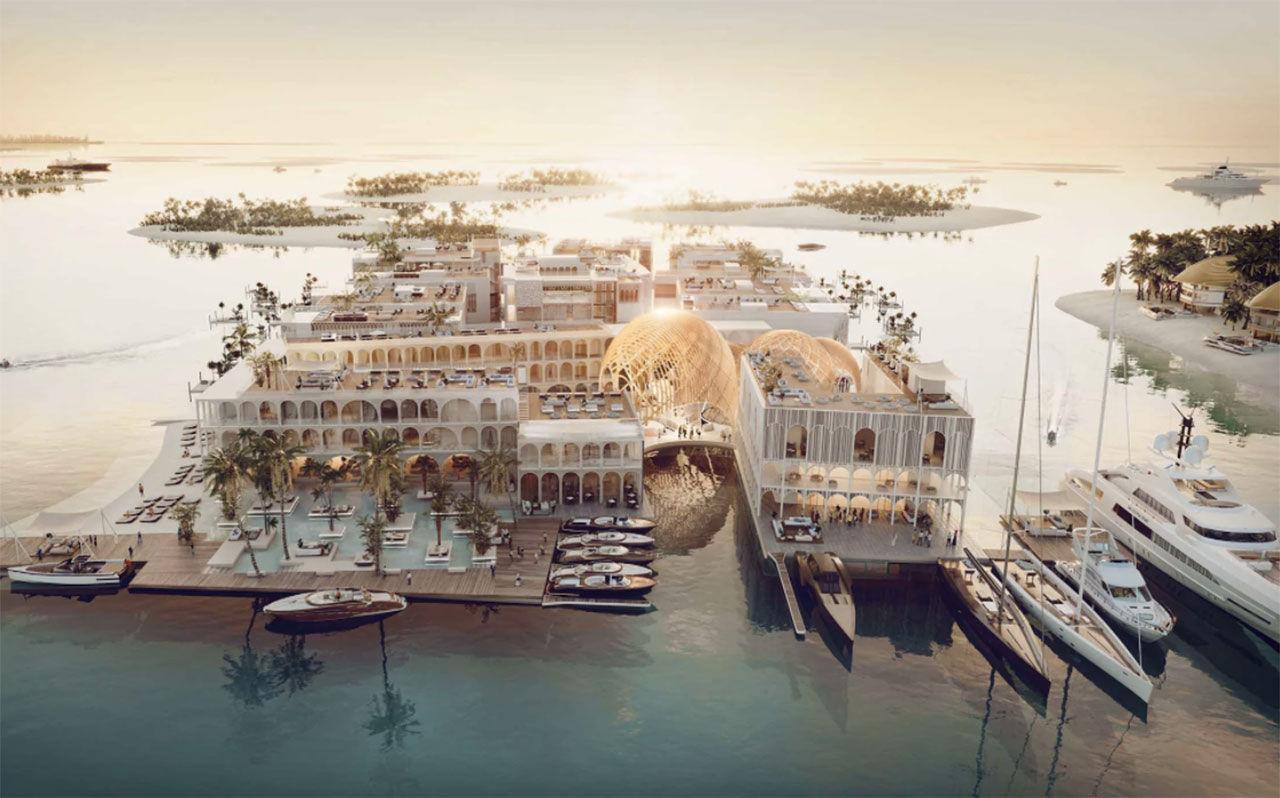 Dubai har planer på ett flytande Venedig