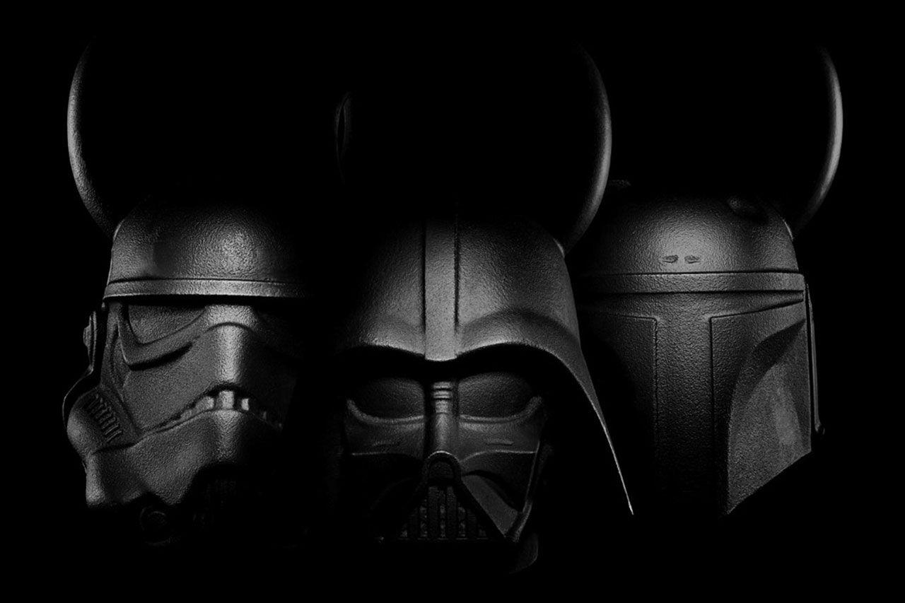 Träna med Darth Vader och grabbarna