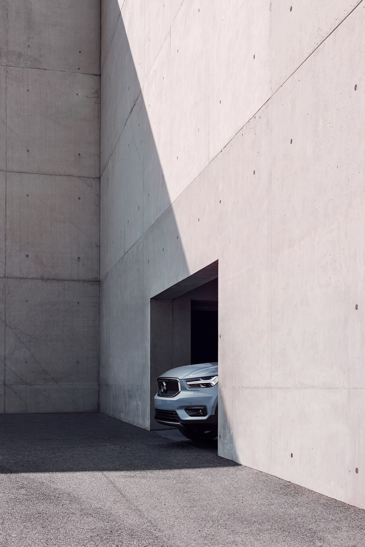 Volvo XC40 visar nosen