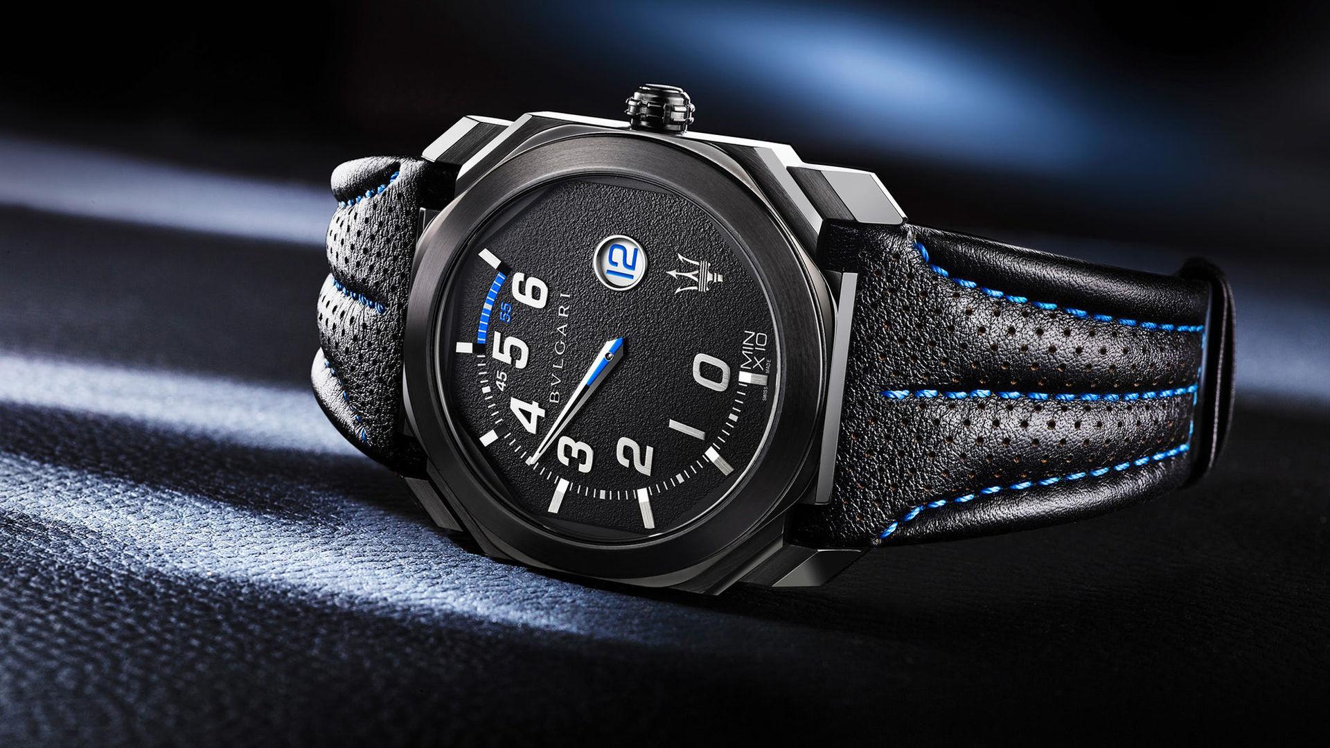Bulgari släpper två Maserati-klockor