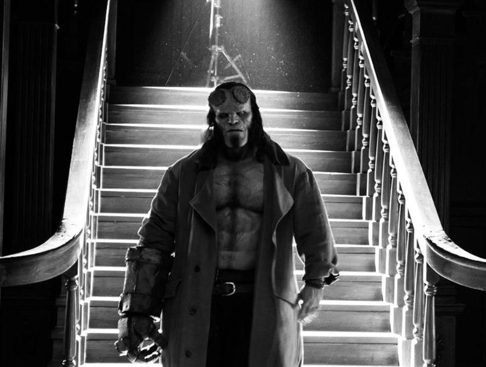 Hellboy har premiär i januari 2019