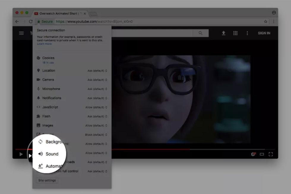 Chrome slutar med autoplay på videoklipp med ljud