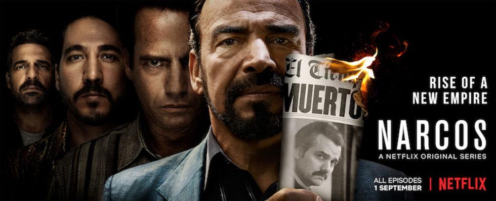 Platsletare för Narcos skjuten i Mexico