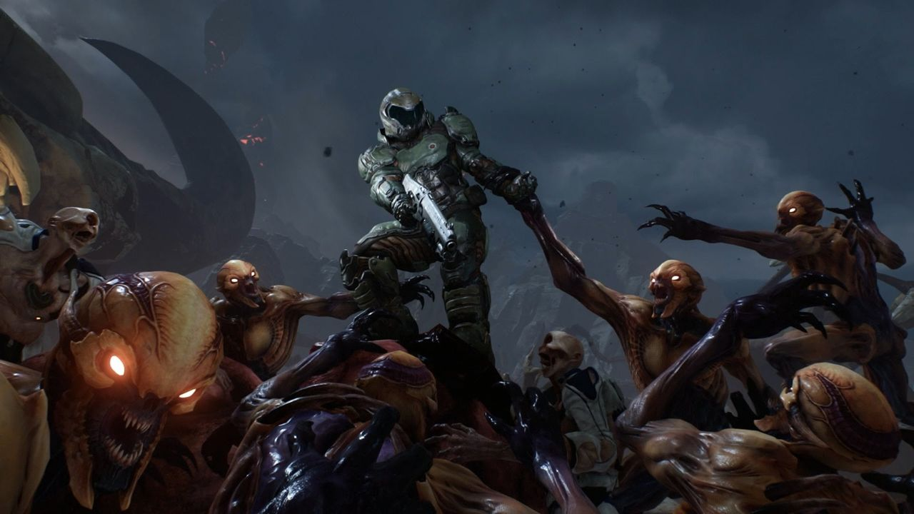 Fysiska Switch-versionen av Doom har inget multiplayer