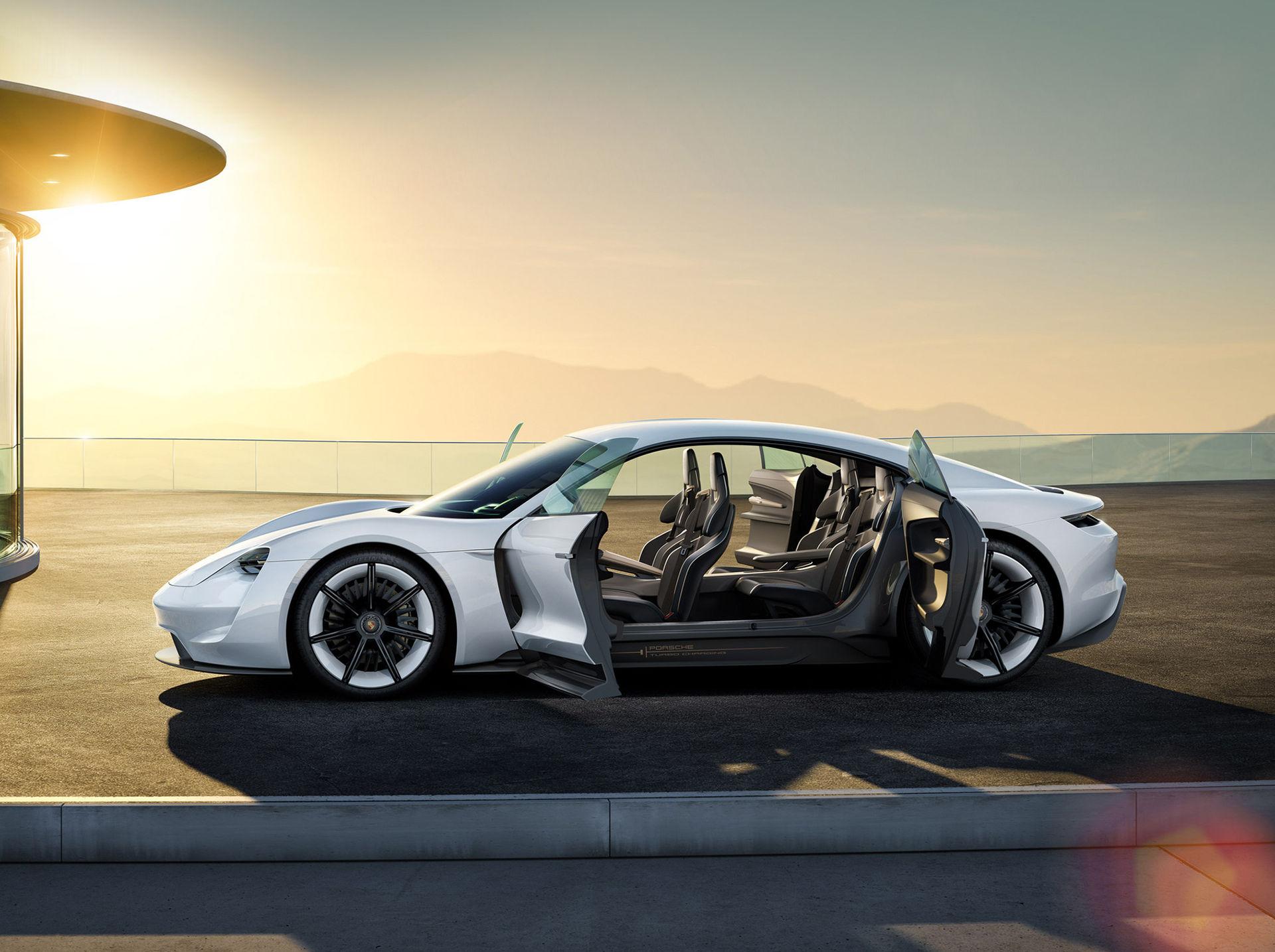 Porsches Mission E kommer att kosta som en Panamera