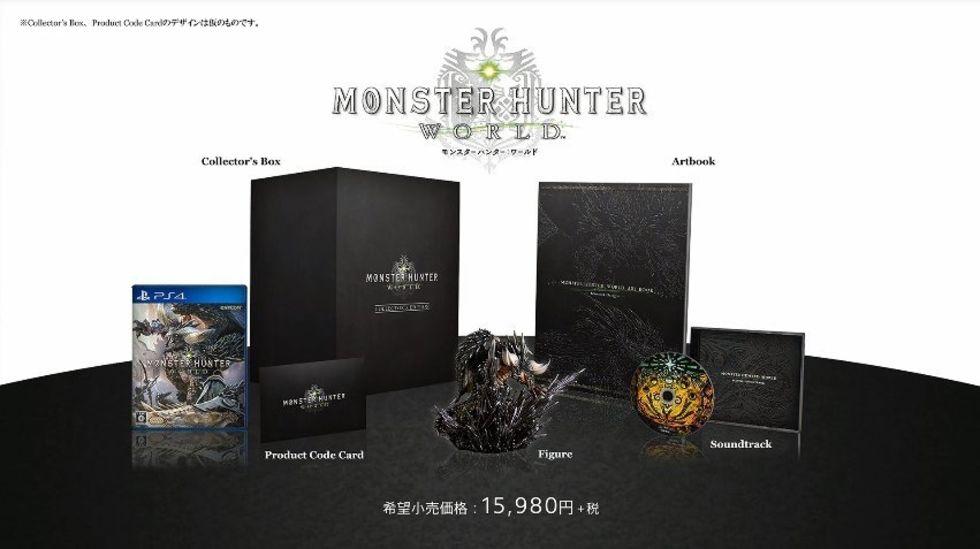 Släppdatum och ny trailer för Monster Hunter World