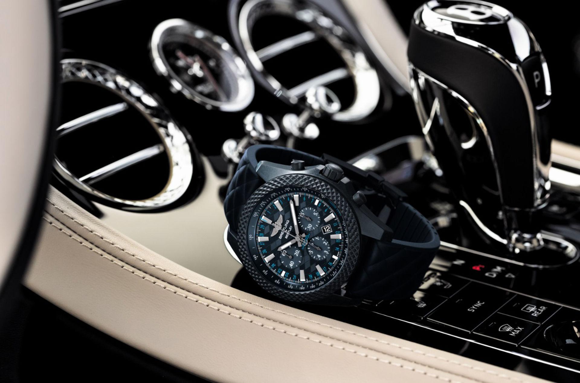 Breitling och Bentley presenterar ny klocka