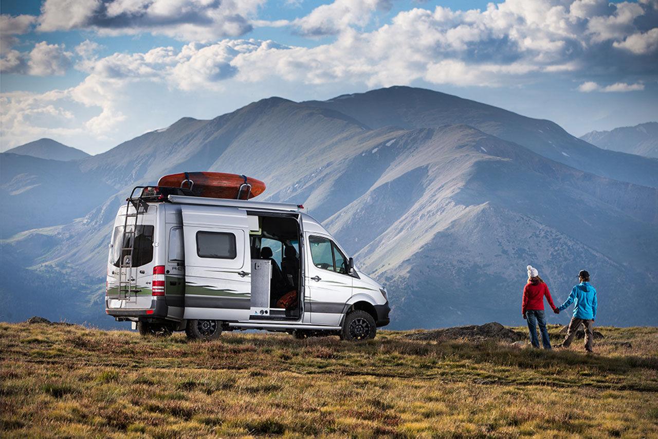 Ny Winnebago-husbil för äventyr