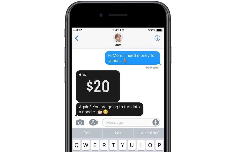 Apple presenterar Apple Pay Cash