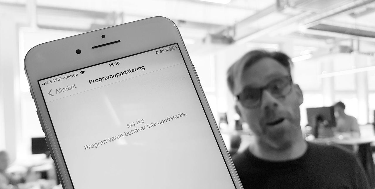 Klockan 19.00 släpps iOS 11!