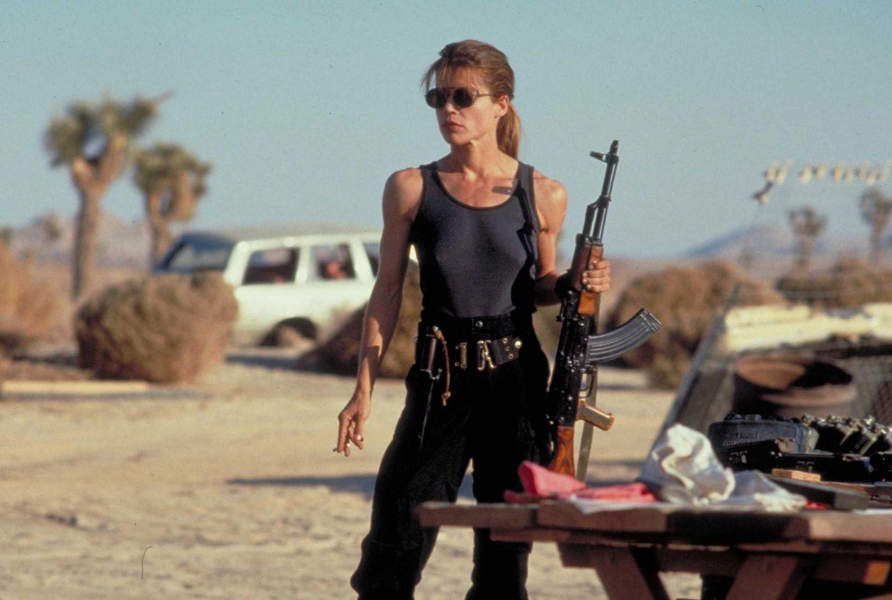 Linda Hamilton återvänder till Terminator!