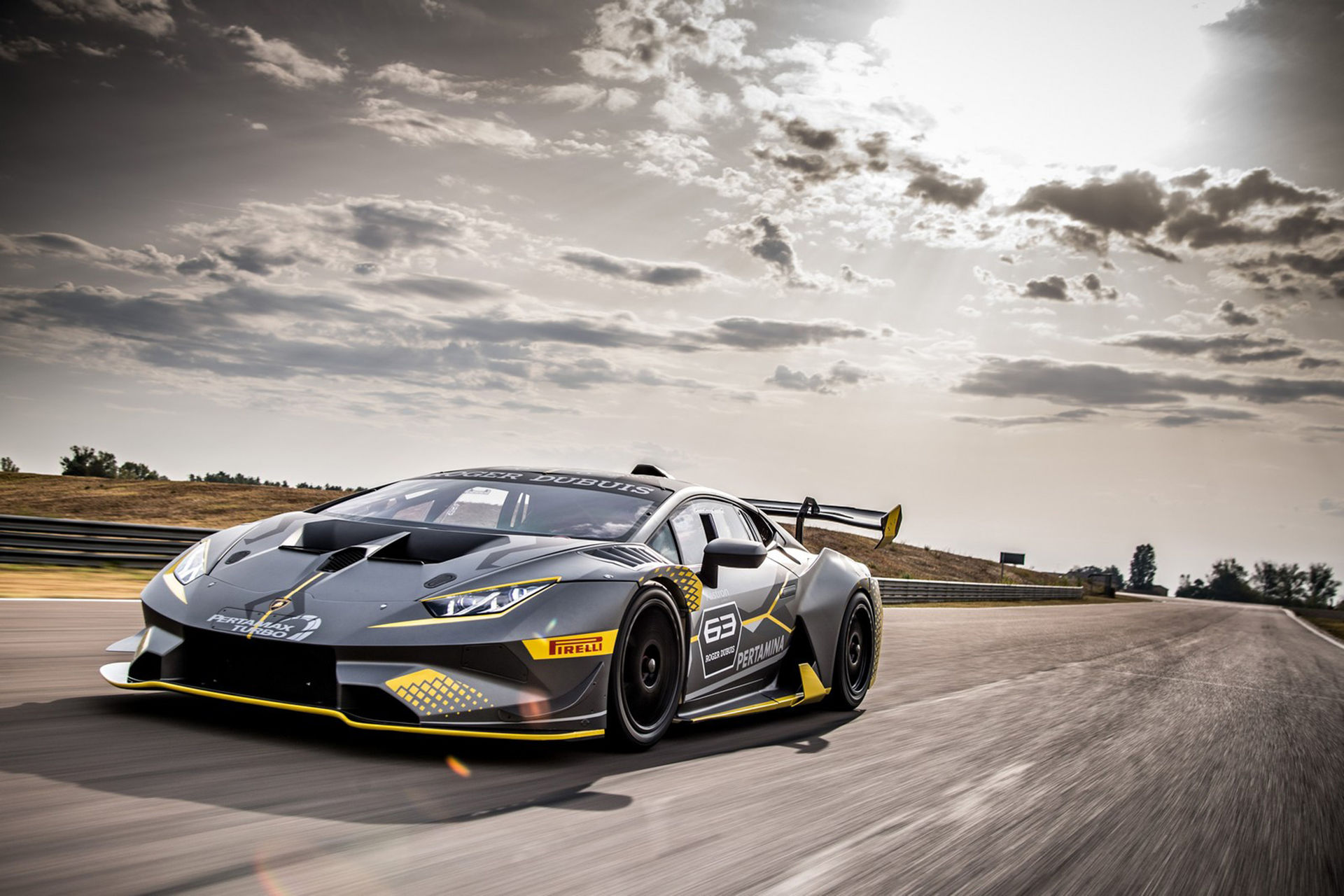 Ny racerversion av Lamborghini Huracán
