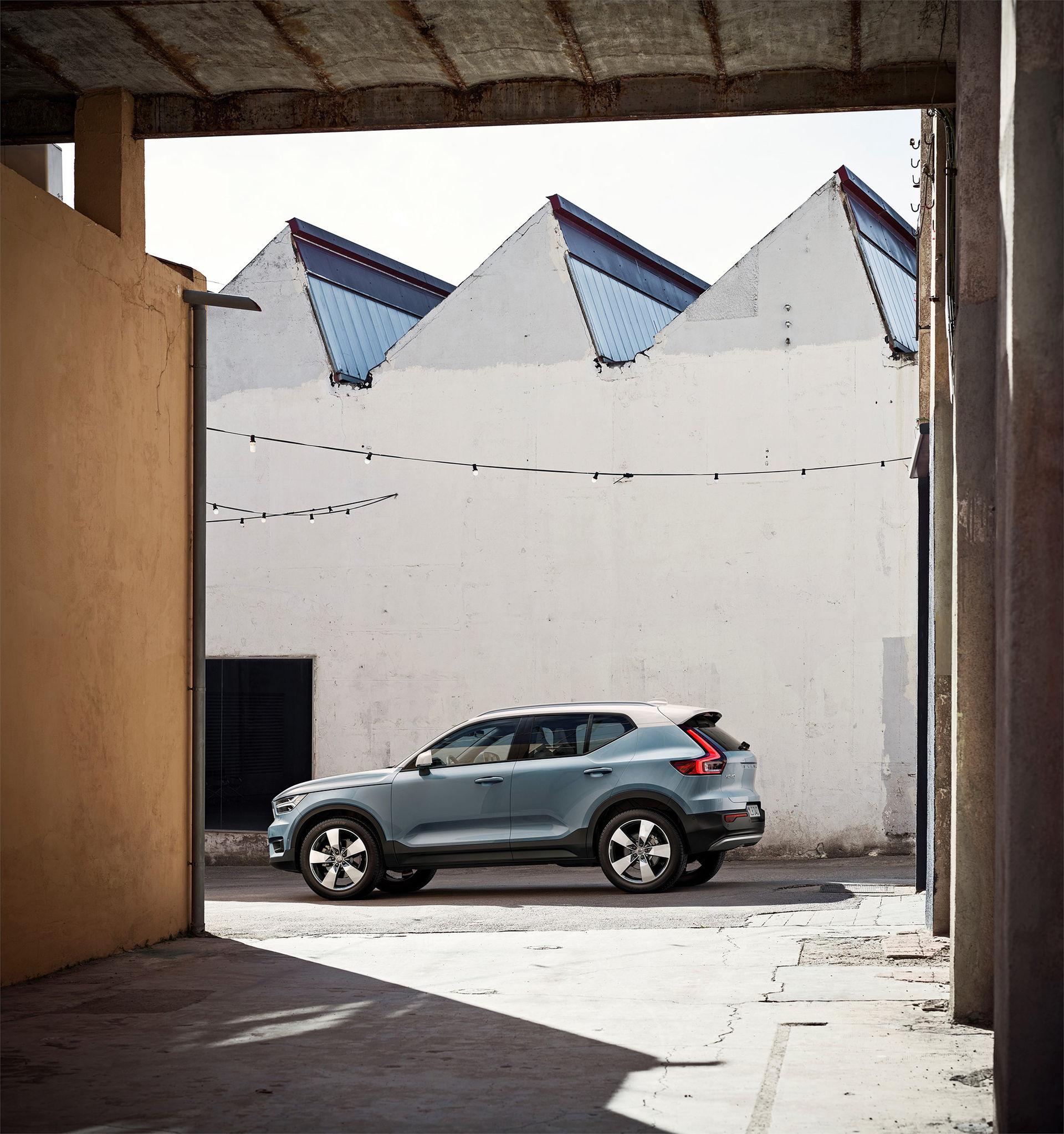 Volvo XC40 är här och den kommer som elbil