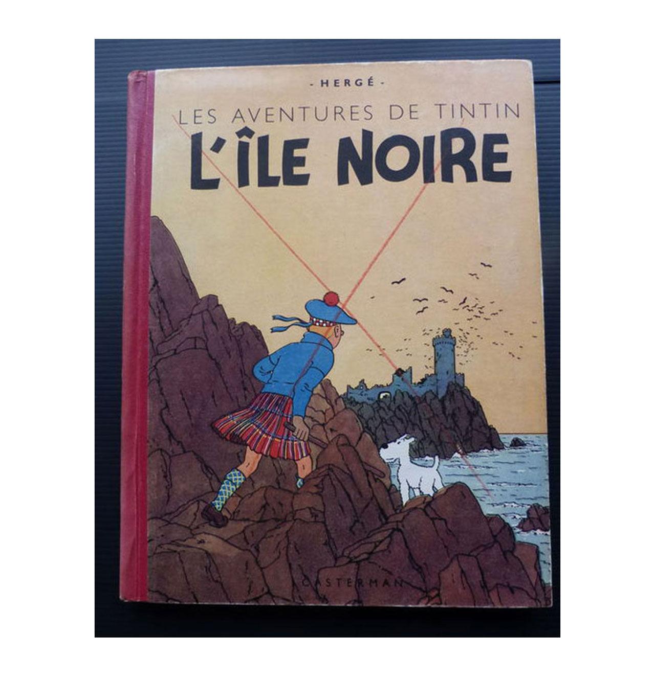 Sällsynt Tintin-bok väntas gå för en miljon