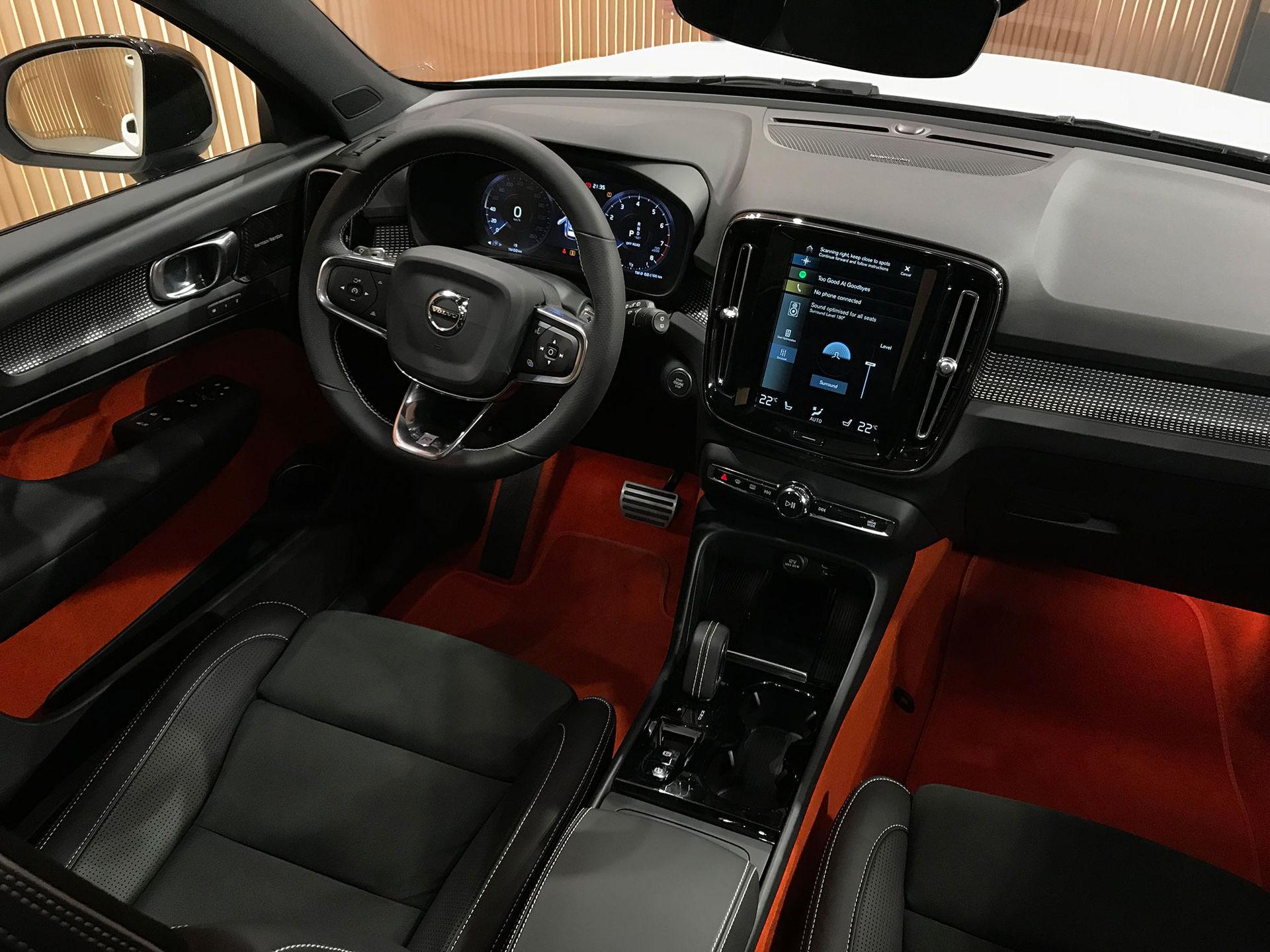 Volvo har faktiskt tänkt till med inredningen på XC40
