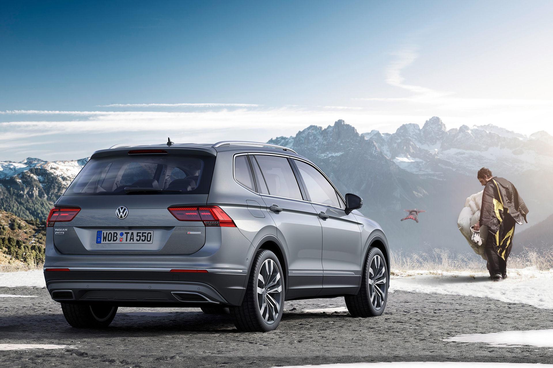 Priserna för Volkswagen Tiguan Allspace klara