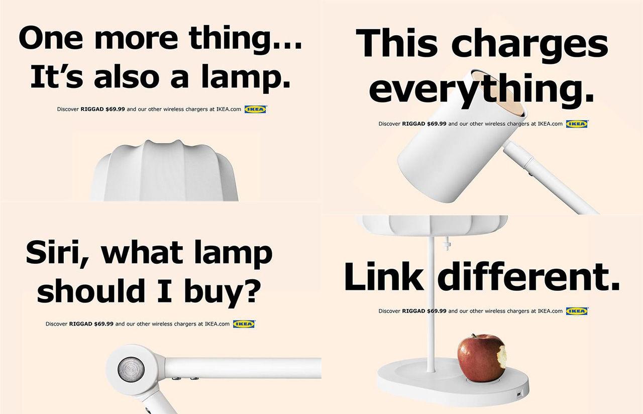 Ikea skojar med Apple-citat i ny reklamkampanj
