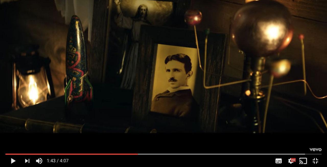 Foo Fighters hyllar Nikola Tesla i senaste videon