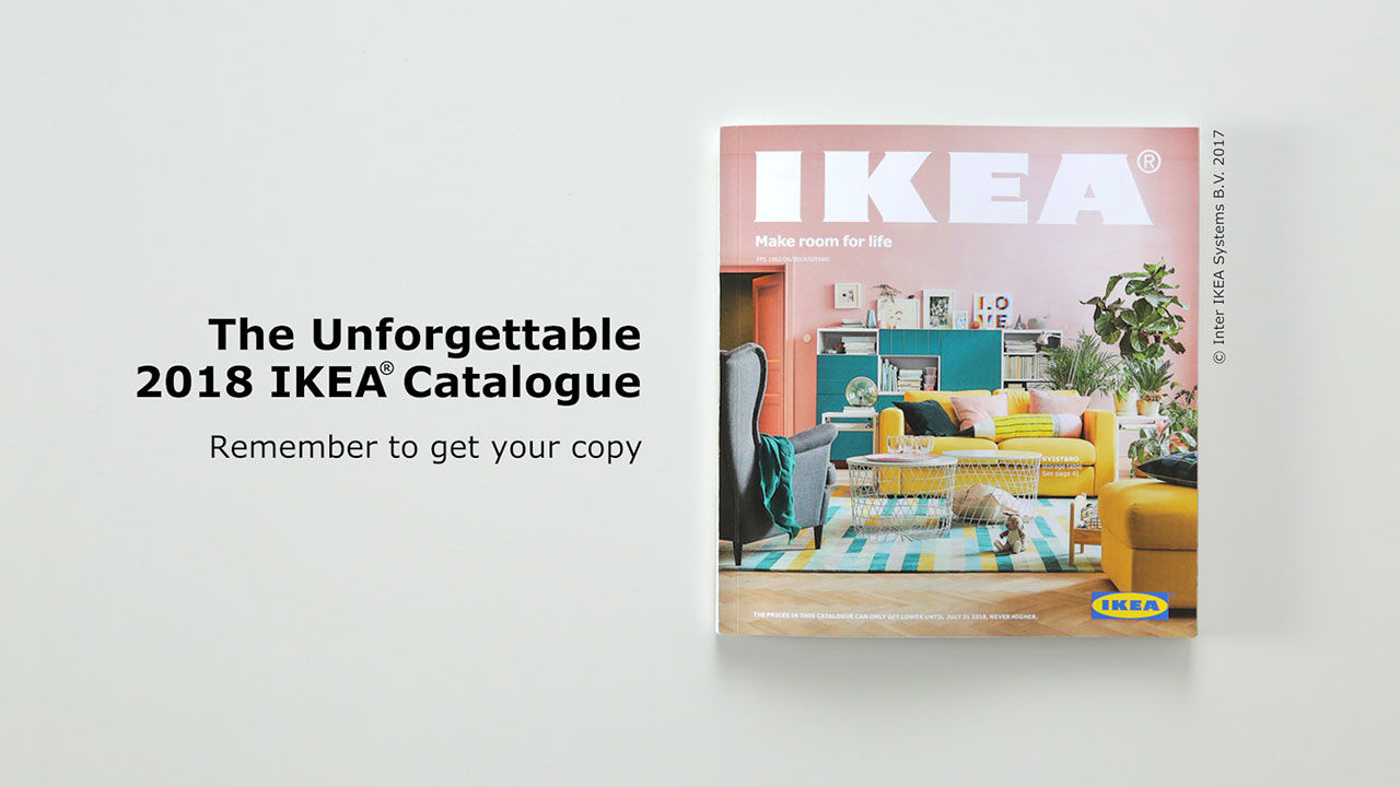 Göm din Ikea-katalog i nytt omslag