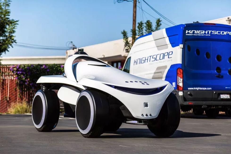 Knightscope visar upp två nya säkerhetsrobotar