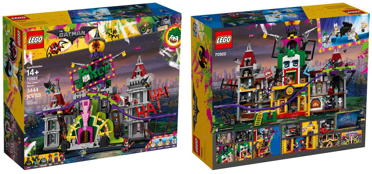 LEGO släpper Joker Manor från The Lego Batman-filmen