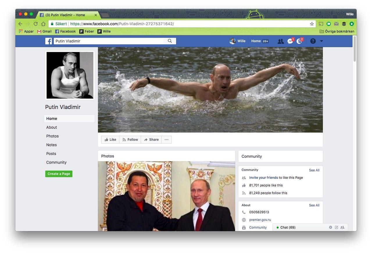 Ryssland hotar med att stänga ner Facebook nästa år