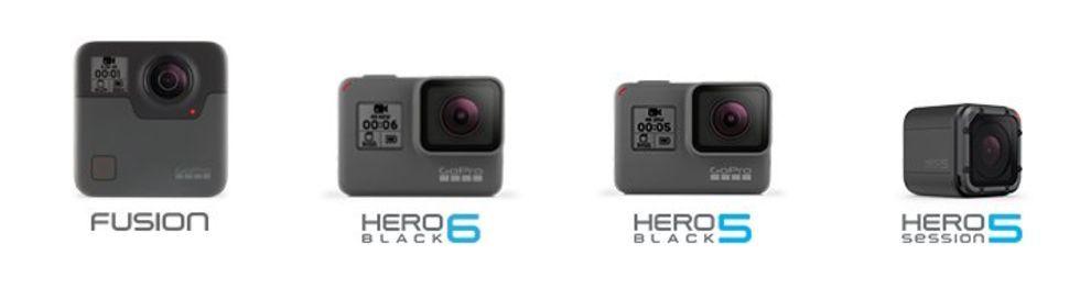 GoPro håller låda i morgon kväll