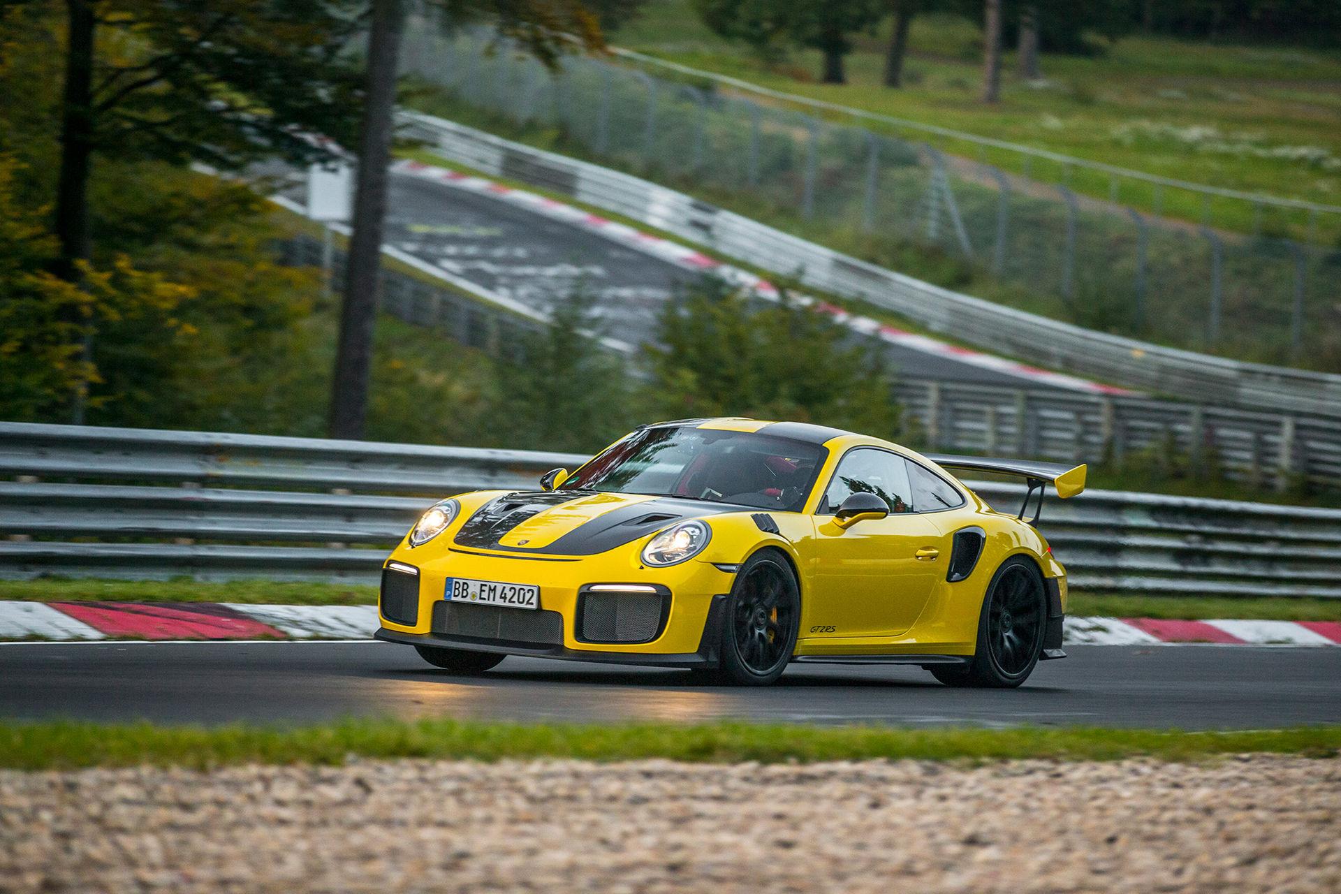 Nya Porsche 911 GT2 RS är snabbast runt Nürburgring