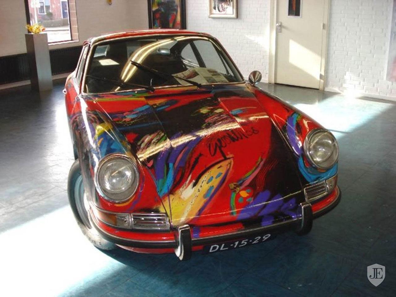 Klassisk Porsche 911 målad av Gerriet Postma