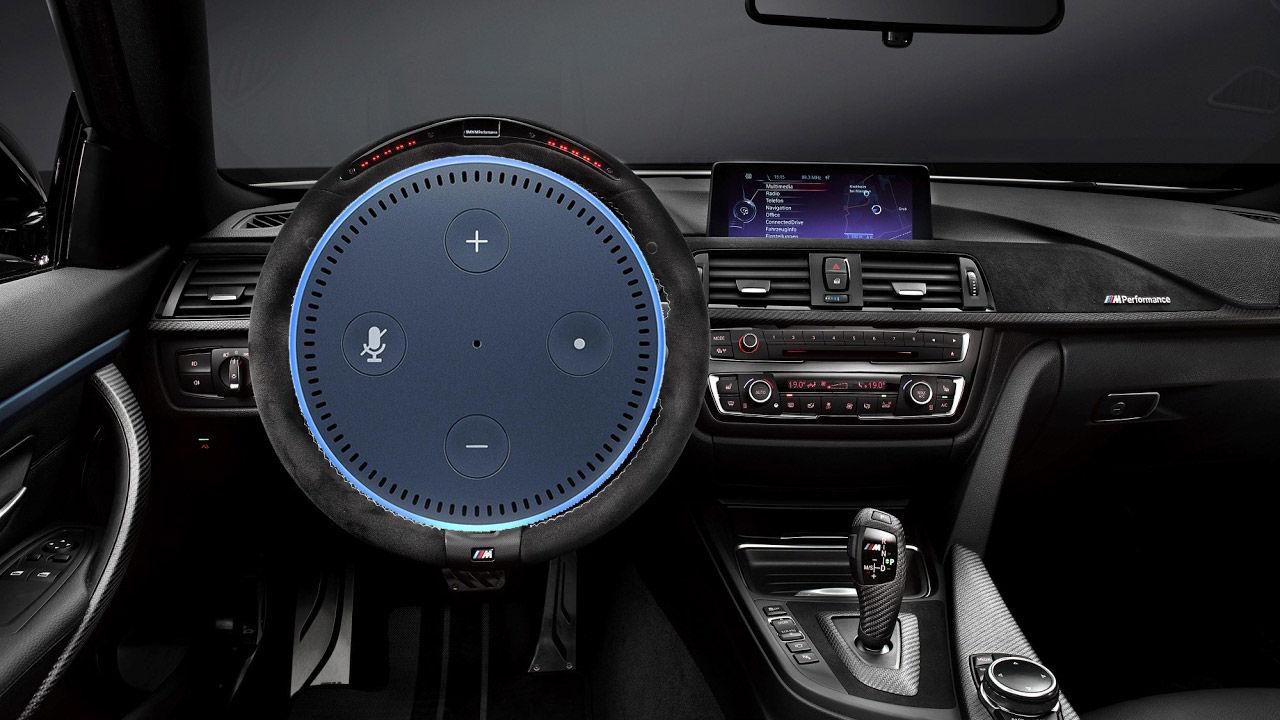 BMW får stöd för den smarta assistenten Alexa