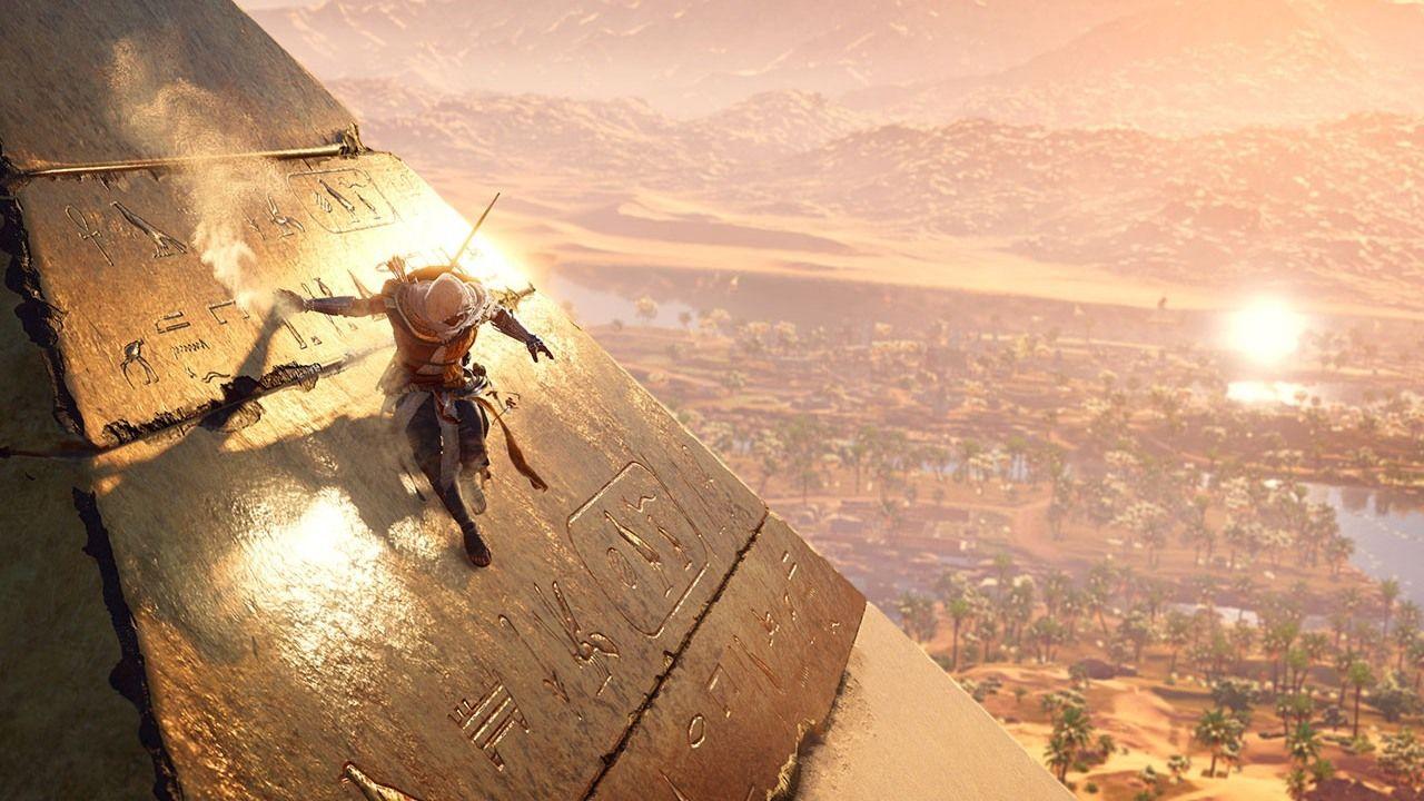 Lär dig historia i Assassin's Creed Origins