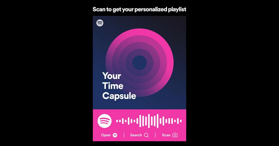 Spotify lanserar Din Tidskapsel