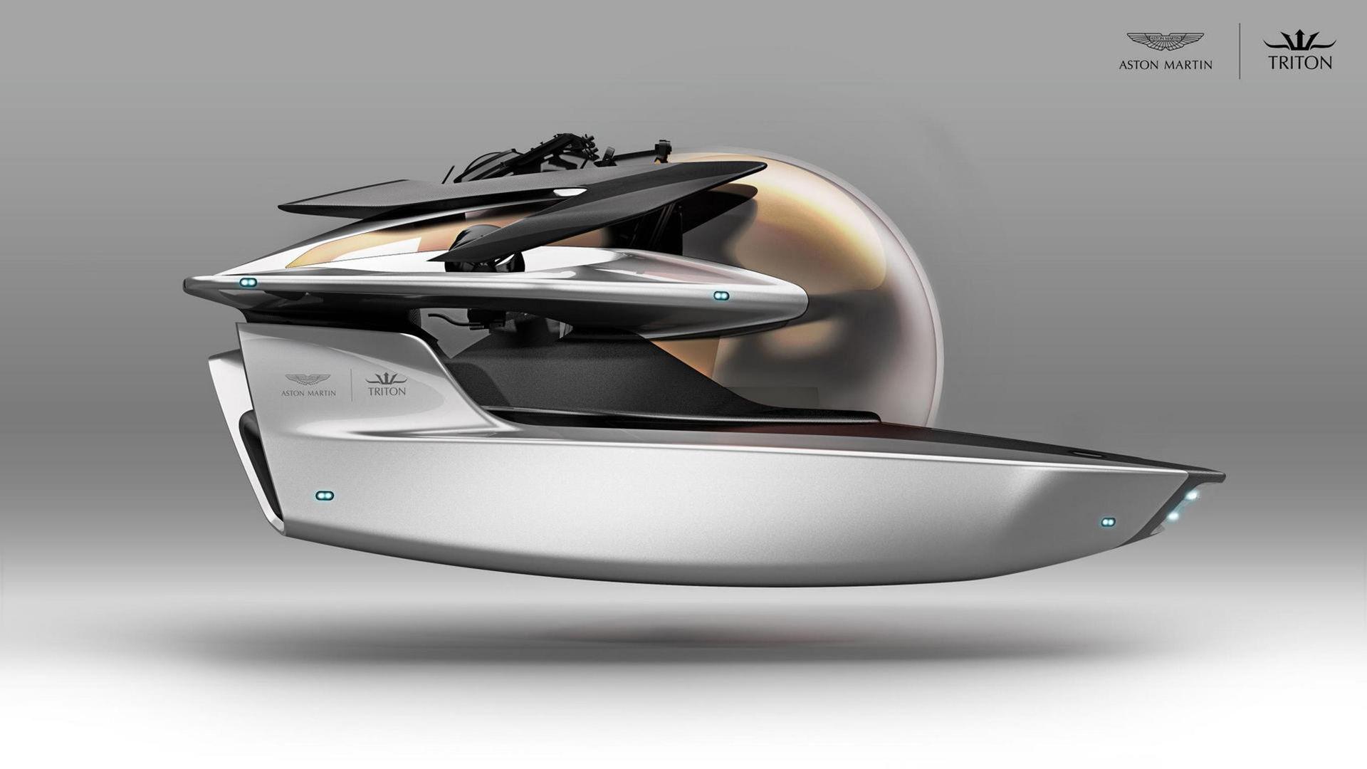 Aston Martin har ritat en ubåt