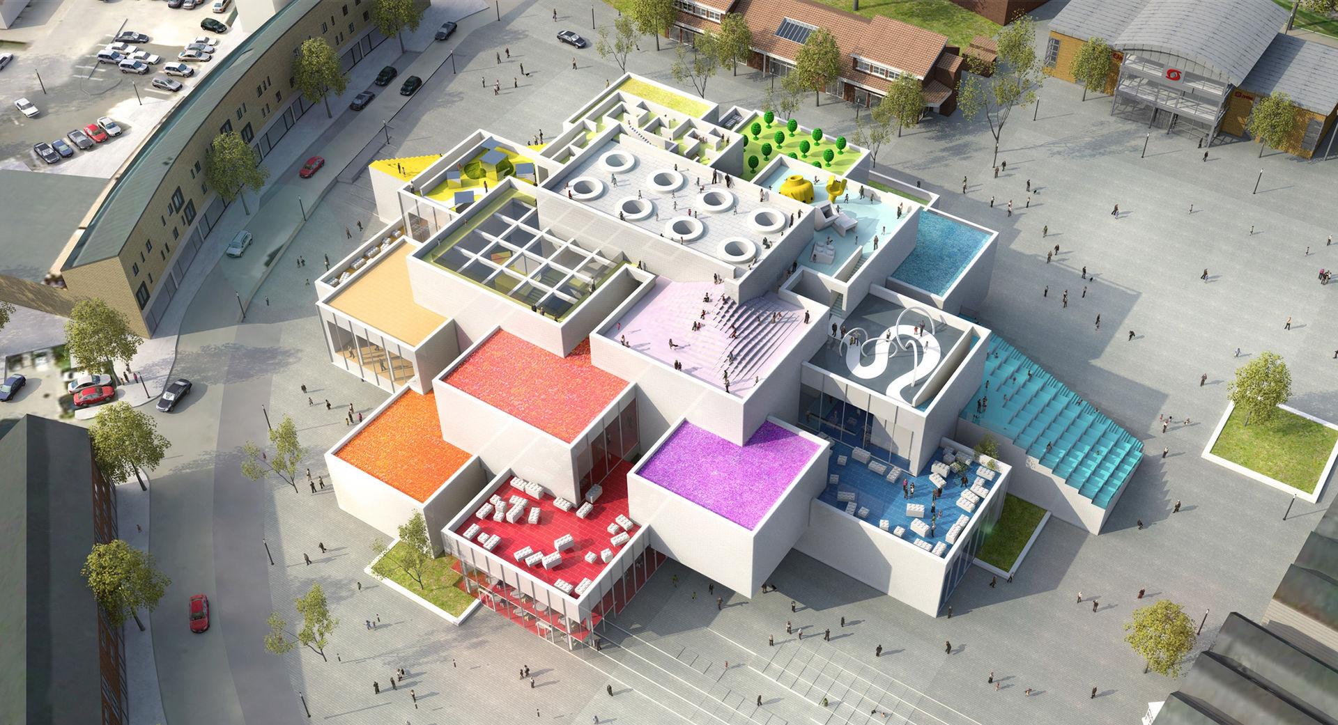 Lego-huset Home of the Brick har öppnat