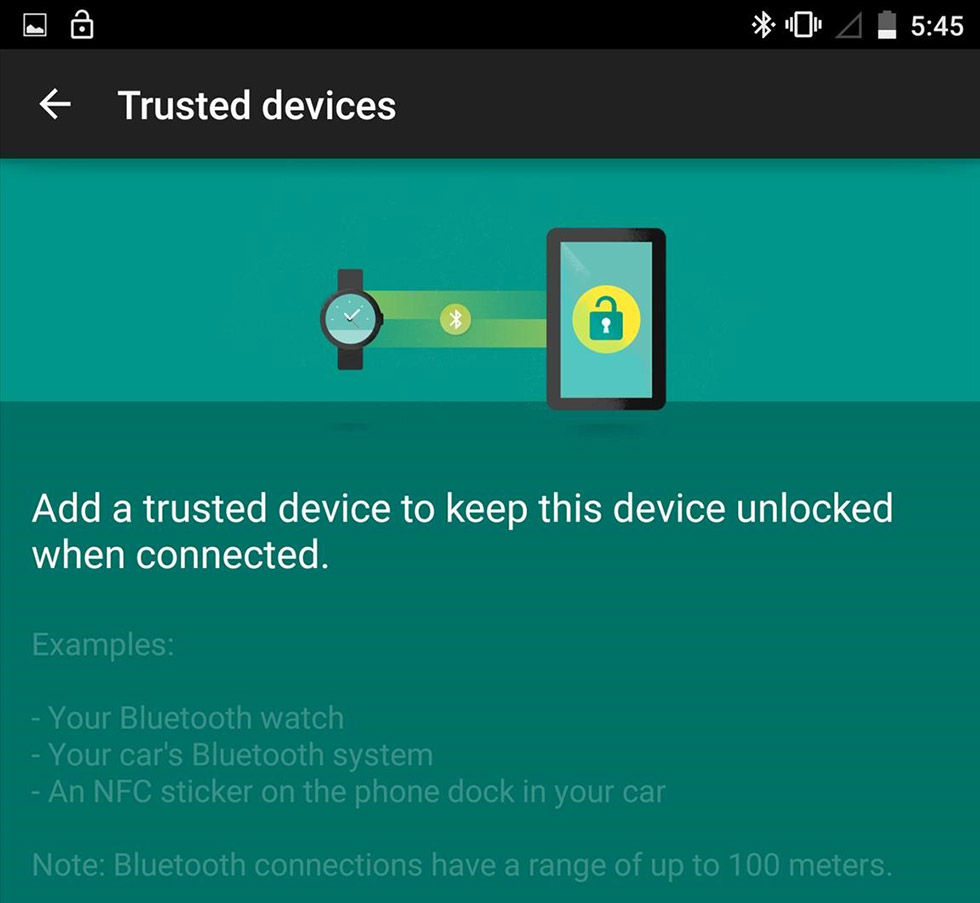 Android skrotar NFC Smart Unlock