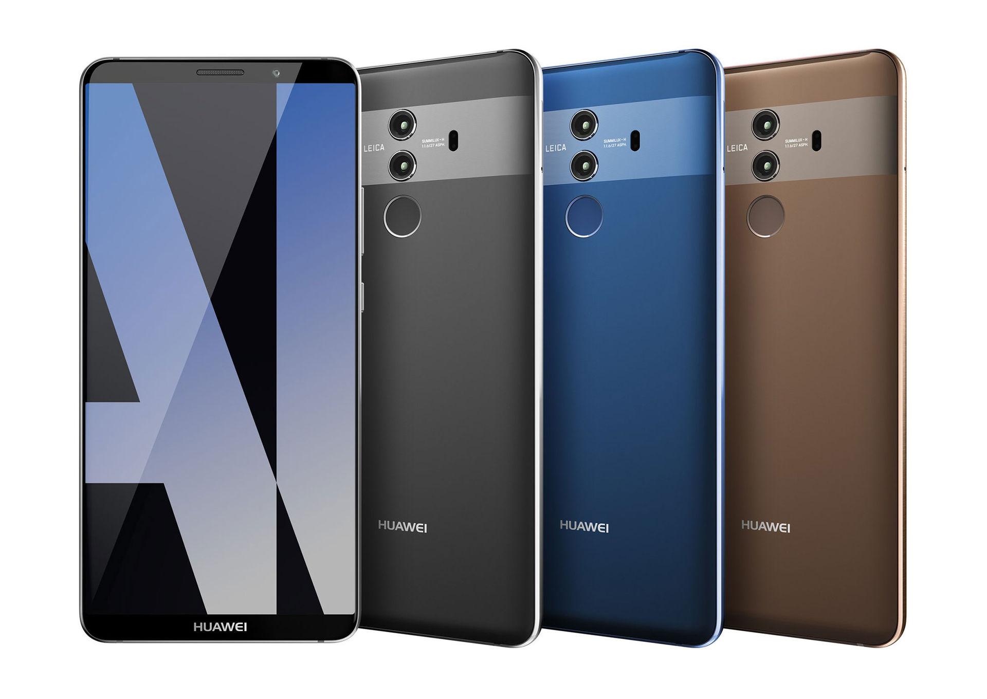 Huawei Mate 10 Pro läcker