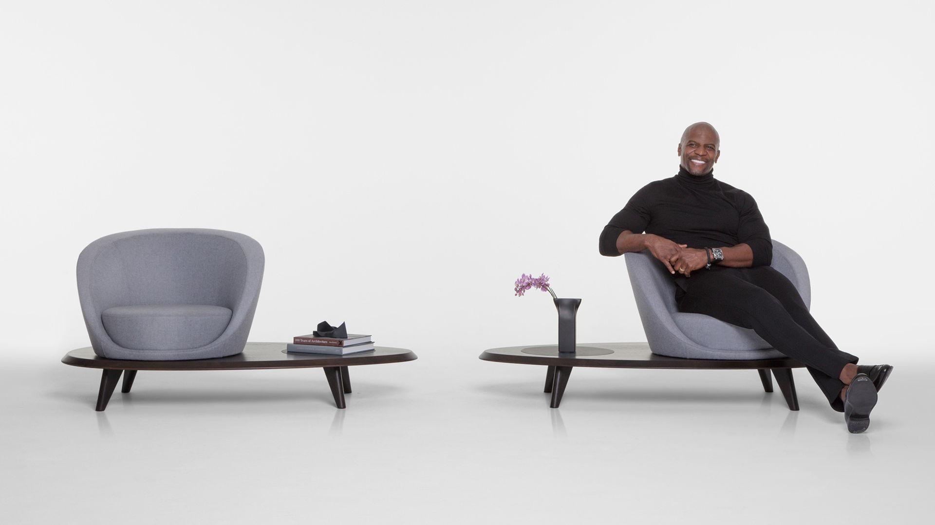 Terry Crews har tagit fram en ny typ av stol