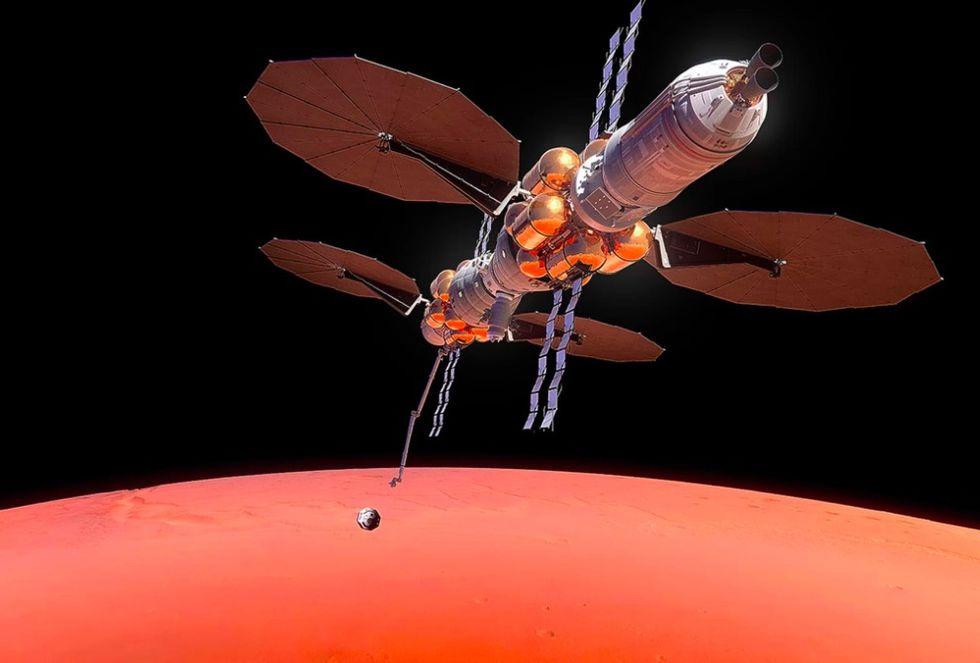 Lockheed Martin vill också bygga koloni på Mars