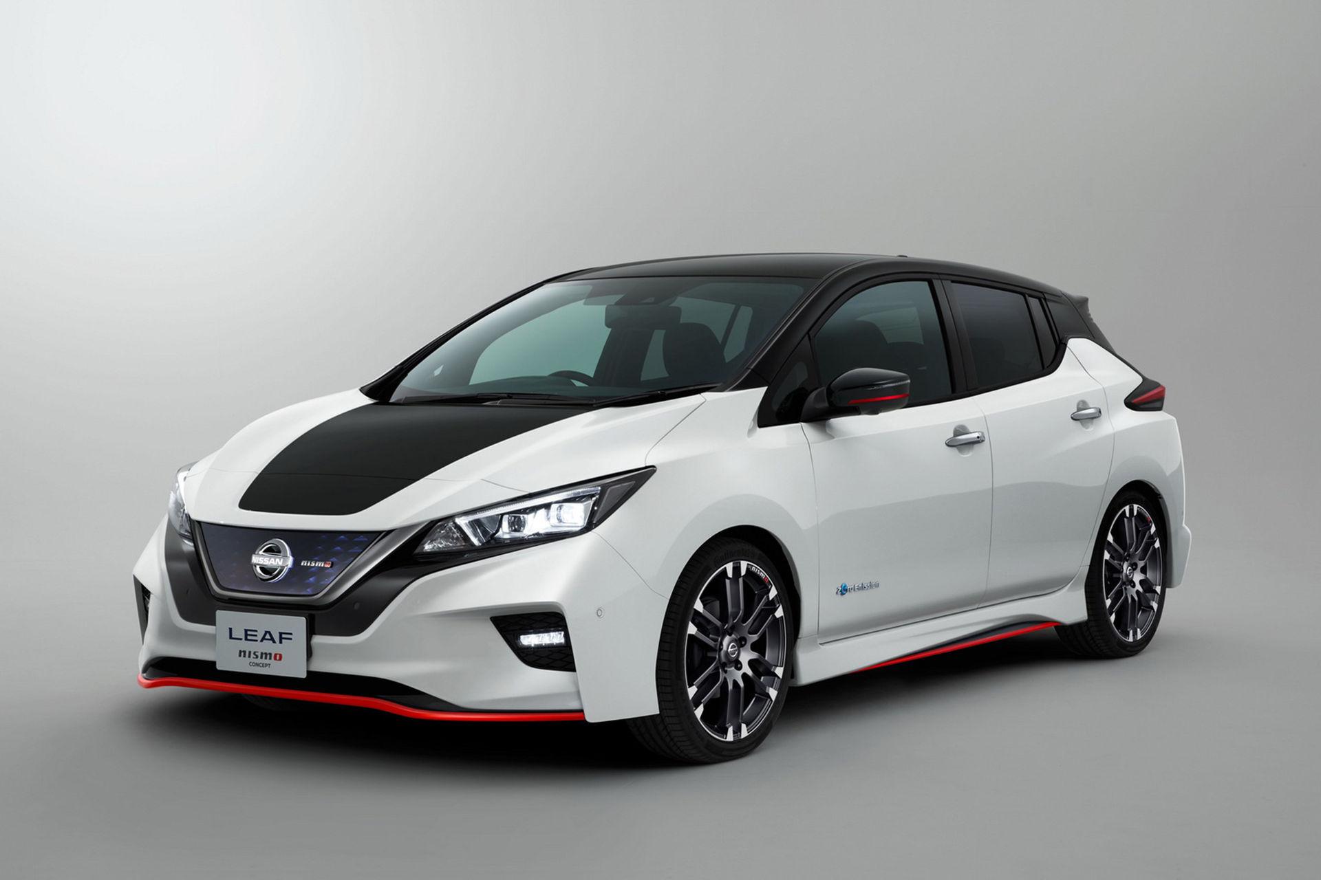 Nismo-paket sportar till nya Nissan Leaf