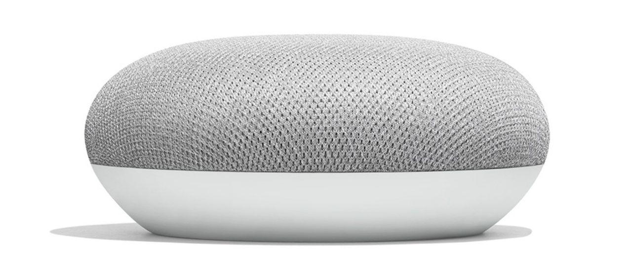 Google presenterar Google Home Mini