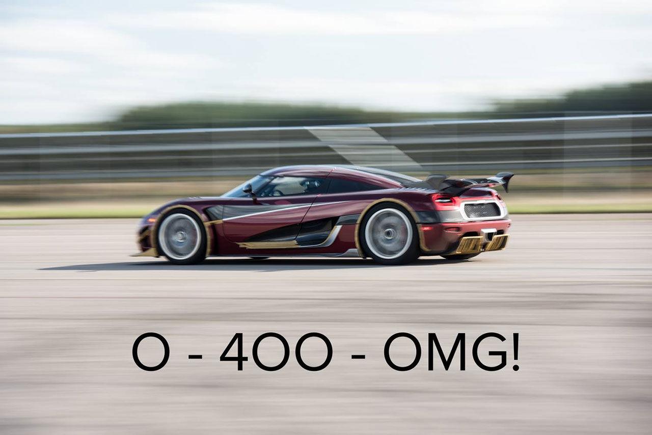 Har Koenigsegg slagit Bugatti Chirons rekord?