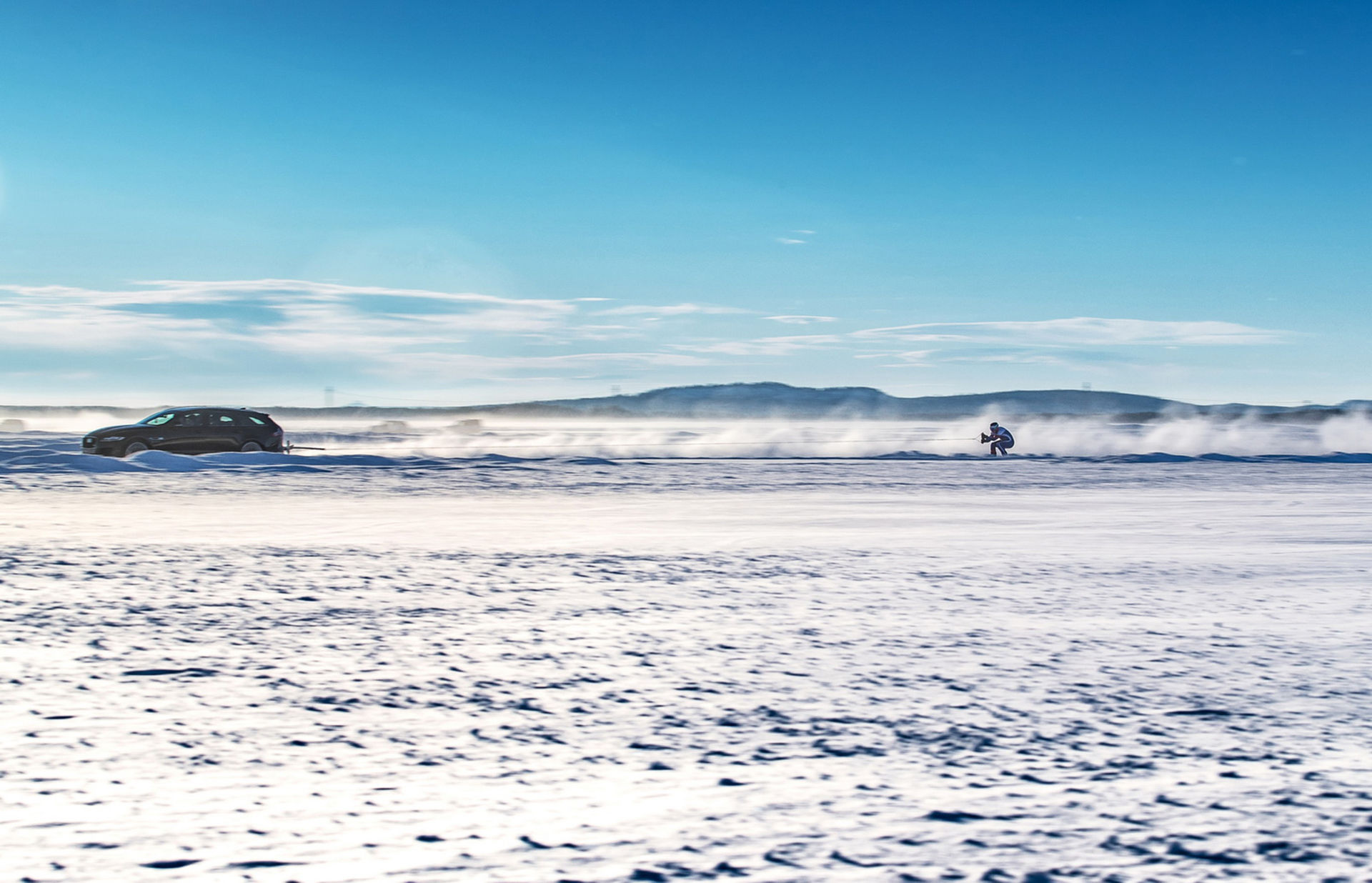 189 km/h på skidor!