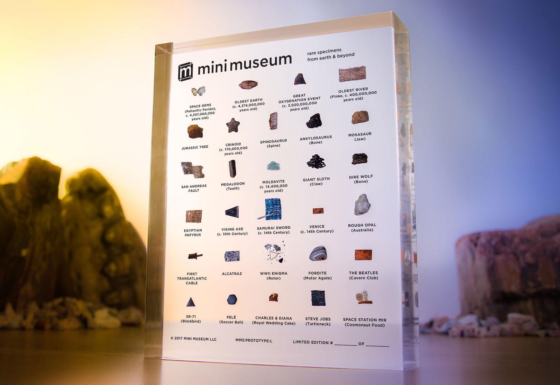 Ett minimuseum att ha hemma