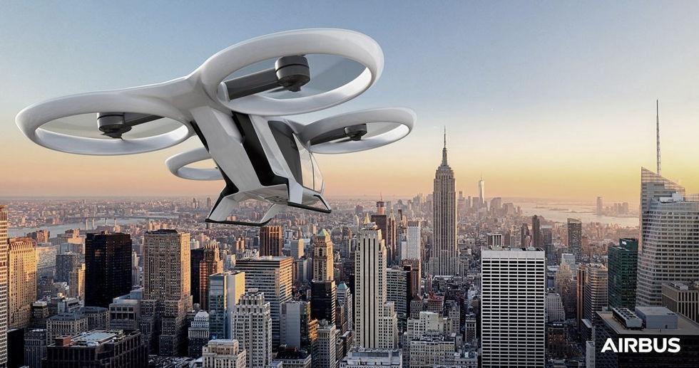 Airbus utvecklar flygande taxi