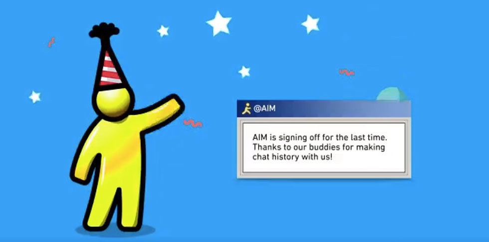 Hejdå AOL Instant Messenger