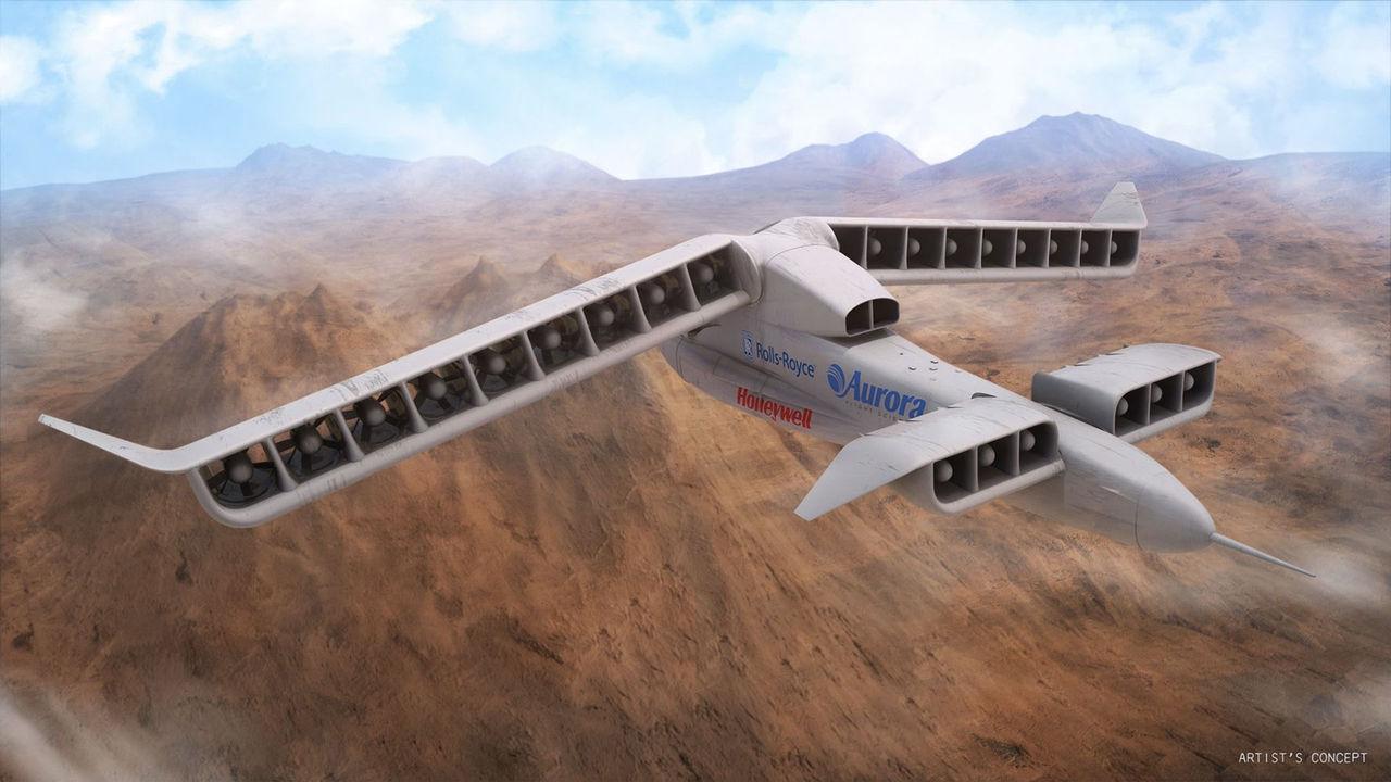 Boeing köper VTOL-planstillverkaren Aurora Flight Sciences