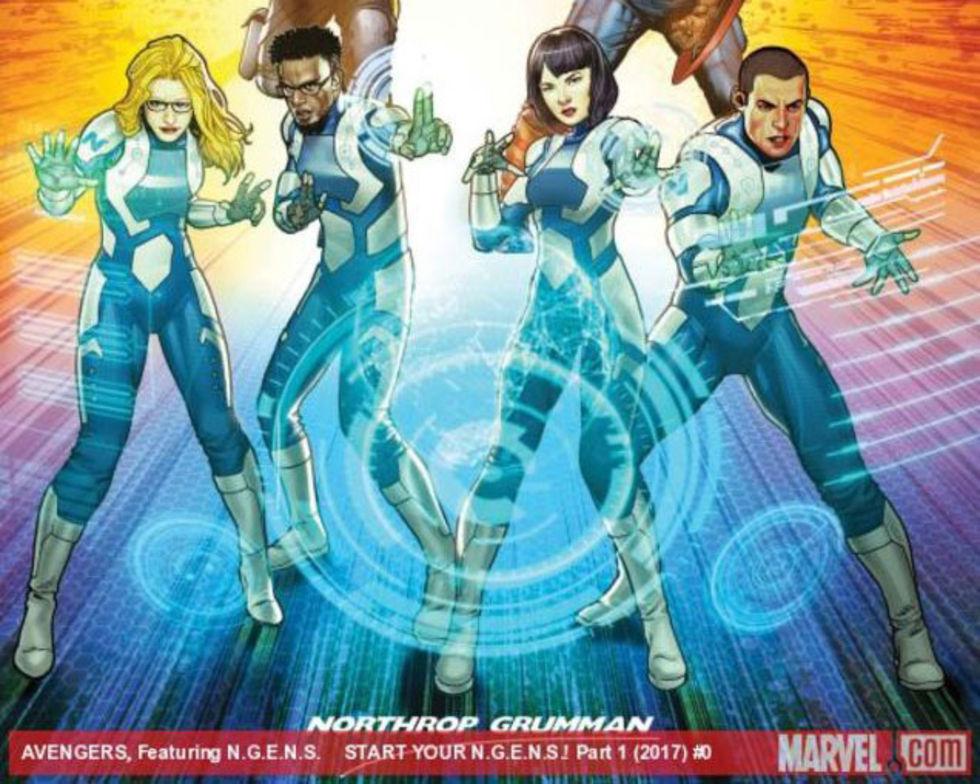 Marvel avbryter samarbete med försvarsföretag